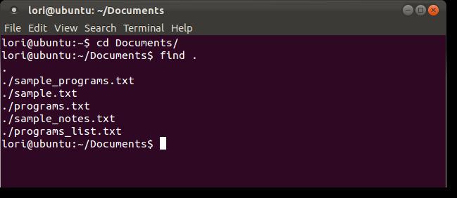 Guna perintah Find di dalam Linux