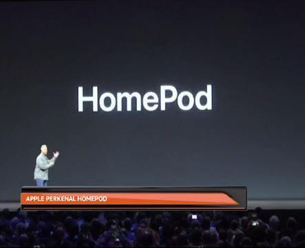 Apple perkenal  HomePod