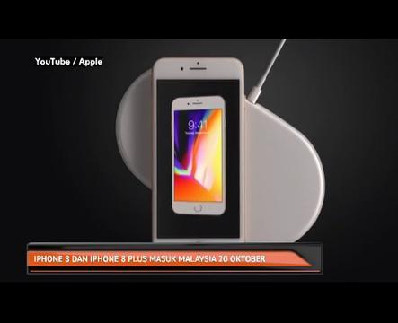 IPhone 8 dan Iphone 8 Plus masuk Malaysia 20 Oktober