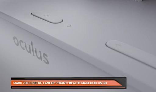 Mark Zuckerberg lancar pernati realiti Maya Oculus Go