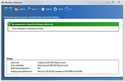 Windows Defender makan 30% processor anda