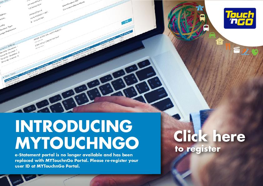 Periksa Rekod Touch N Go Dengan Touch N Go Portal