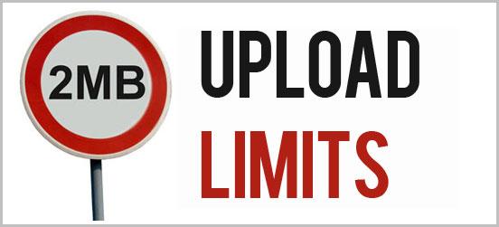 Increase Vtiger upload limit