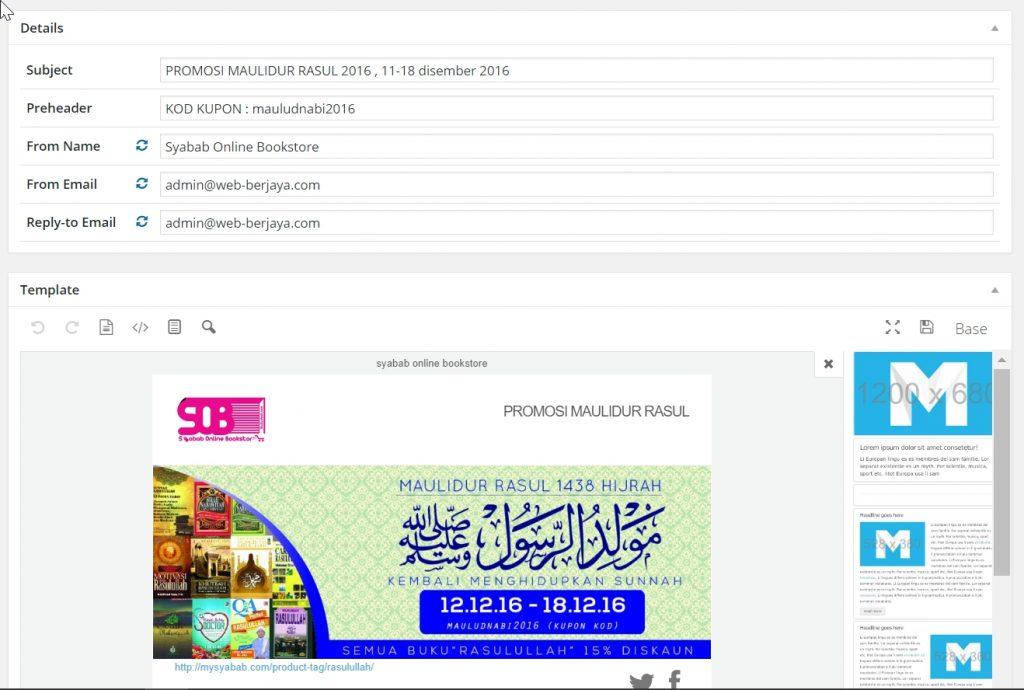 Hantar-emel-melalui-Wordpress