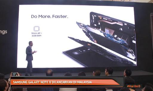 Samsung Galaxy Note 8 dilancarkan di Malaysia