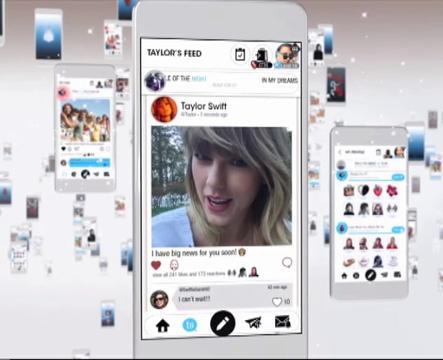 Taylor Swift lancar aplikasi percuma