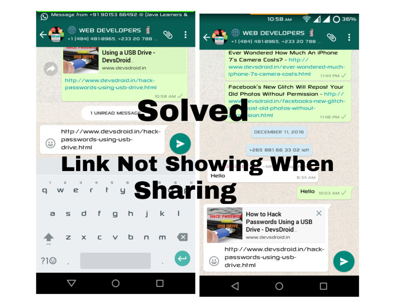 (Solved) No thumbnail image Showing when share a link of website