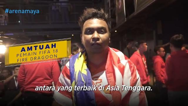 Kejayaan anjuran Virtuelle Bundesliga Asia Tenggara