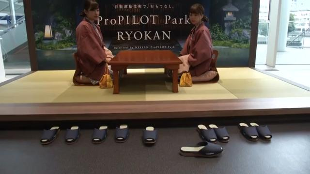 Nissan develops slippers that park themselves