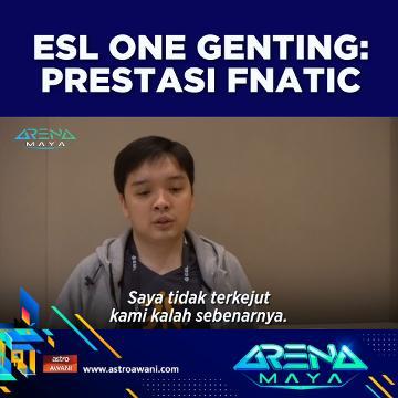 Prestasi Fnatic dalam ESL One Genting
