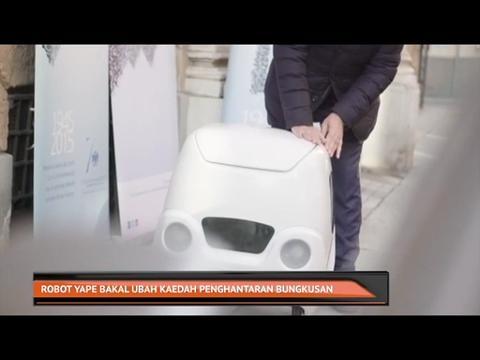 Robot Yape bakal ubah kaedah penghantaran bungkusan